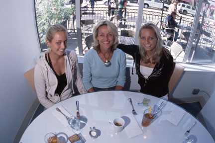 Sierra, Winnie, Hailey
